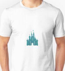 Blue Glitter Unisex T-Shirt