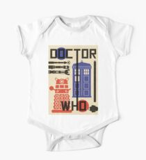 Dr Who Bauhaus Style  Kids Clothes