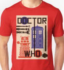 Dr Who Bauhaus Style  Unisex T-Shirt