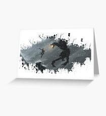 Skyrim Splatter Greeting Card