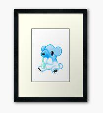 Cubchoo - Pokemon Framed Print