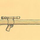 Pen and weapon by Ercan BAYSAL