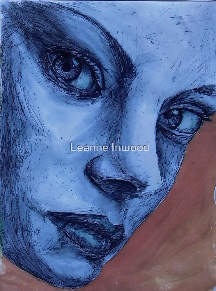 blue lady by Leanne Inwood
