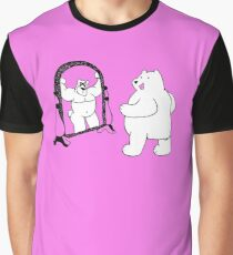 Mirror Muscle Bear Graphic T-Shirt