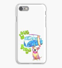 Love Bugs, Pitbulls & 1960s Vintage Bus iPhone Case/Skin