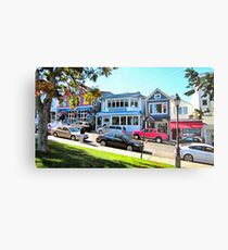 Main Street - Bar Harbor Metal Print