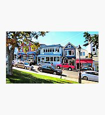 Main Street - Bar Harbor Photographic Print