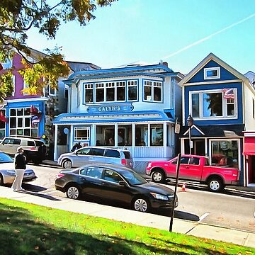 Main Street - Bar Harbor by photorolandi