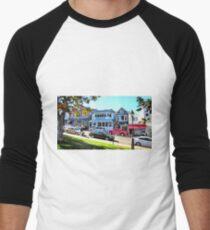 Main Street - Bar Harbor Men's Baseball ¾ T-Shirt