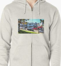 Main Street - Bar Harbor Zipped Hoodie