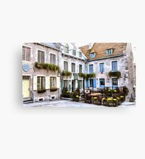 Place Royale - Old Quebec City Canvas Print