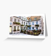 Place Royale - Old Quebec City Greeting Card
