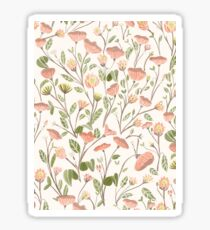 Spring Floral Pattern Sticker