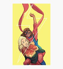 Kamala and Carol Photographic Print