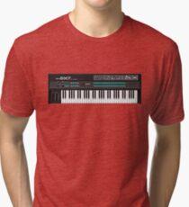 Pixel DX7 Synth Tri-blend T-Shirt
