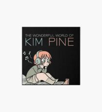 The Wonderful World of Kim Pine Art Board