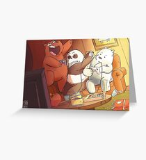 Bear Bros Greeting Card