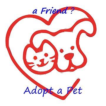 Do You Wanna a Friend Adopt a Pet by lucianobdn