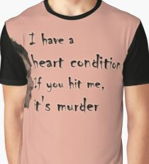 Withnail's Fragile Heart Graphic T-Shirt