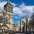Saint Wilfrids and York Minster. by Robert Gipson