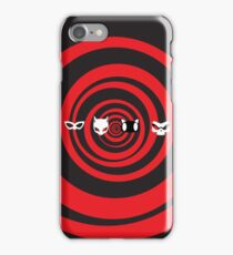 swirly masks iPhone Case/Skin