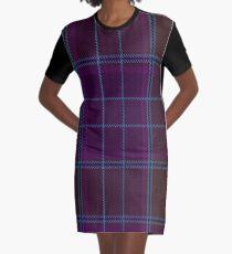 Phillips Clan/Family Tartan  Graphic T-Shirt Dress