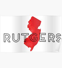Rutgers Geofilter Poster