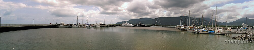 Cairns Marina by champion