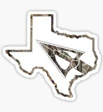 Bowhunt Texas - White Sticker