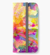 explosion florale/floral explosion iPhone Wallet/Case/Skin