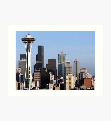 Queen Anne's Seattle Art Print