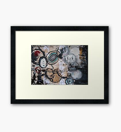 Upside Down and Inside Out Framed Print