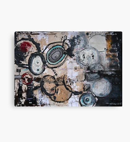 Upside Down and Inside Out Canvas Print