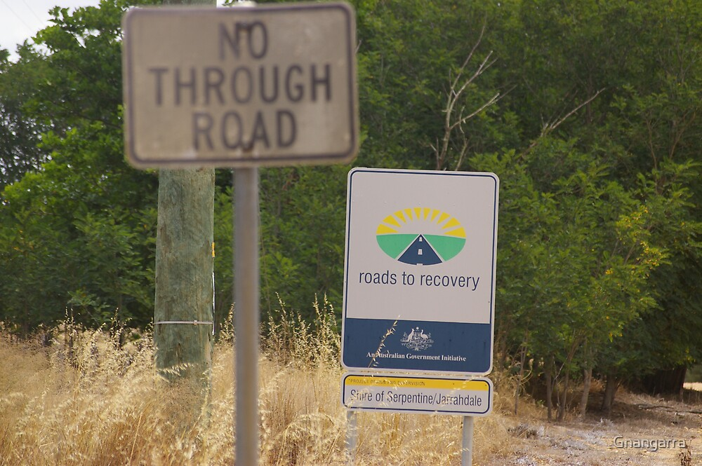 Irony the sign by Gnangarra