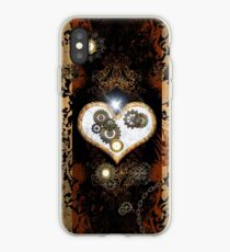 Steampunk,  with awesome heart iPhone Case