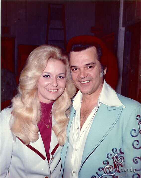 Keran Wheeler my cousen with Conway Twitty by candy