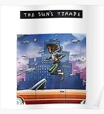 Isiah Rashad - Die Tiraden der Sonne Poster