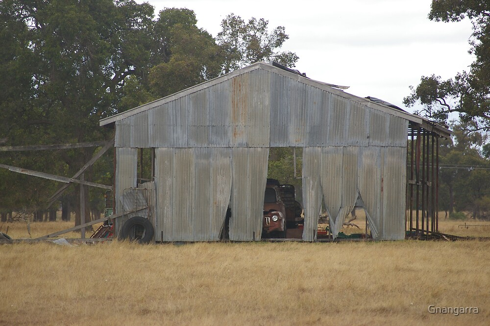 The Shed  by Gnangarra