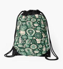 Paisley succulents Drawstring Bag