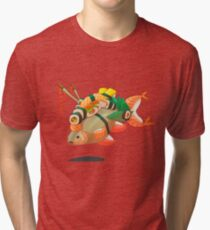 Distressed sushi  Tri-blend T-Shirt