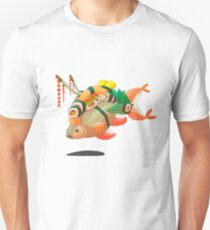 Distressed sushi  Unisex T-Shirt