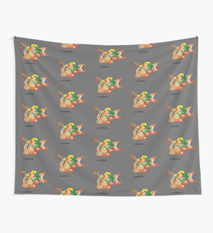 Distressed sushi  Wall Tapestry