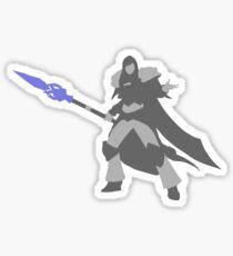 Jaina-Silhouette Sticker
