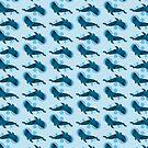 «Ballena azul de la burbuja» de EuGeniaArt