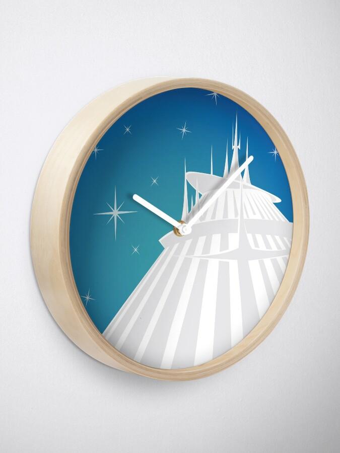 Alternative Ansicht von Raum Berg Illustration Uhr