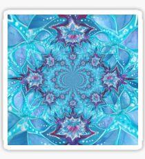 Lotus Flower Mandala Sticker
