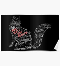 All Cats Are Beautiful Poster