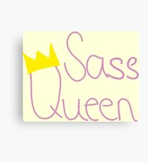 Sass Queen Canvas Print