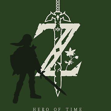 «Héros du temps - La légende de Zelda t-shirt» par zehel