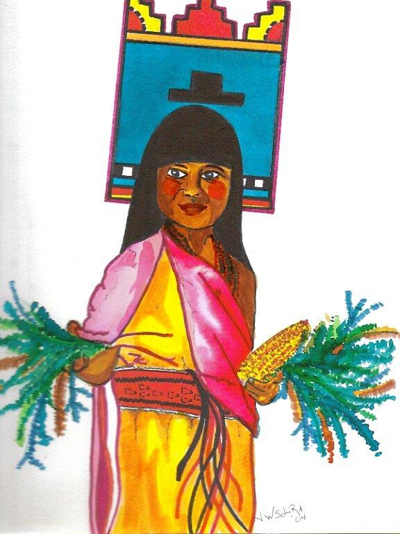 Native Chid 2 by Jamie Winter-Schira